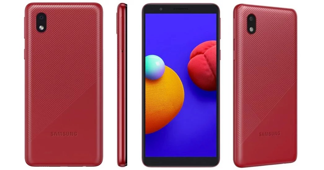 Samsung Galaxy M01 Core with Android Go