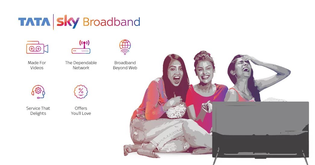 Tata Sky Broadband data speed, broadband plans and FUP