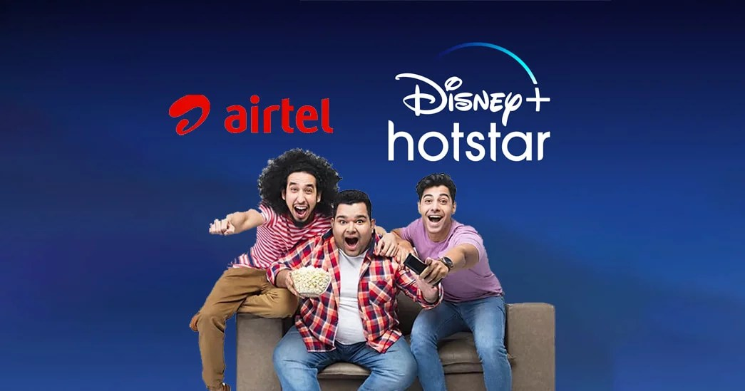 Airtel free Disney plus Hotstar subscription