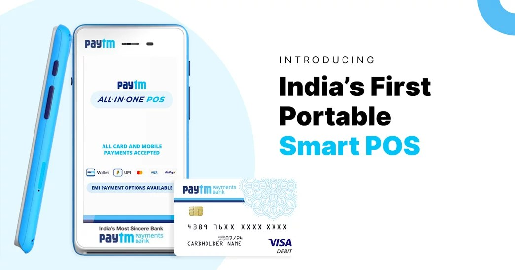 Paytm Android Smart POS device