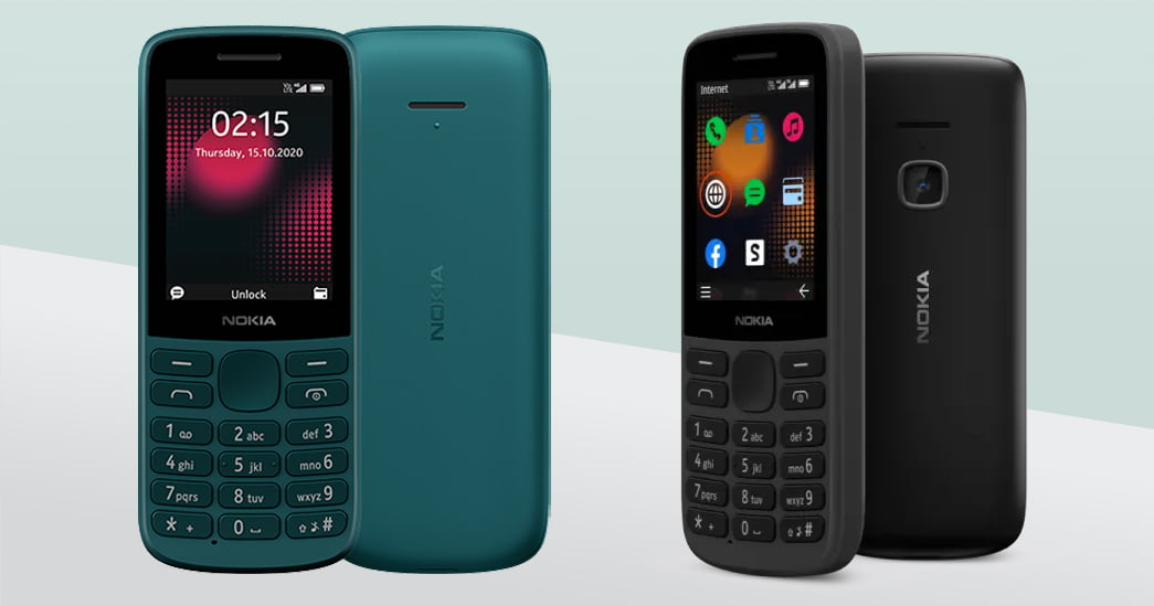 Nokia 215 4G, Nokia 225 4G feature phones with VoLTE