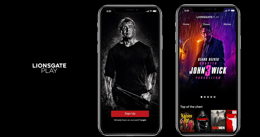 Lionsgate Play premium  video streaming platform launched in India