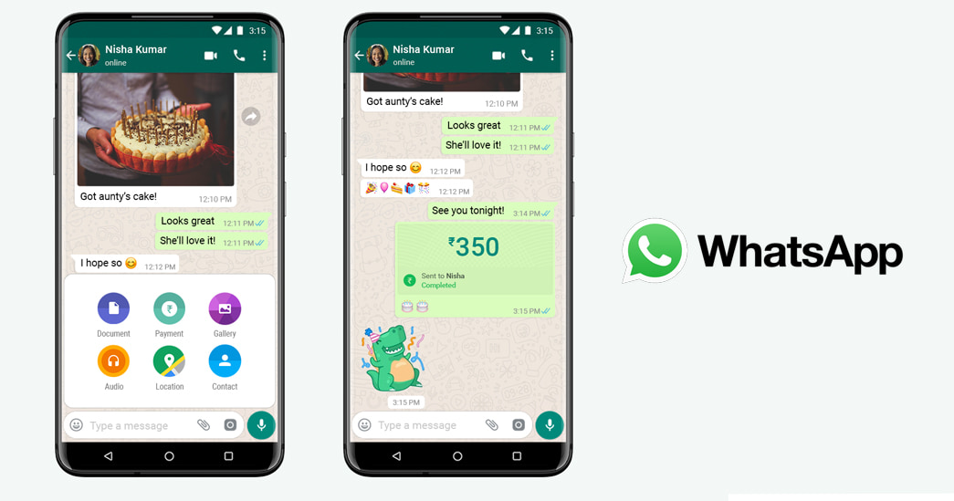 WhatsApp Payments UPI officially launched