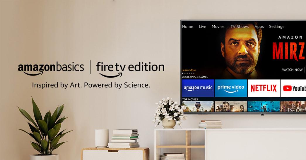 AmazonBasics Fire TV Edition Smart TVs