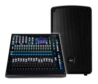 Live Sound PA Hire in London datarhyme live sound qu16 hd32a