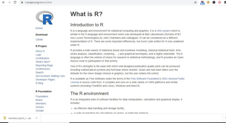 Machine Learning Programming Language -R