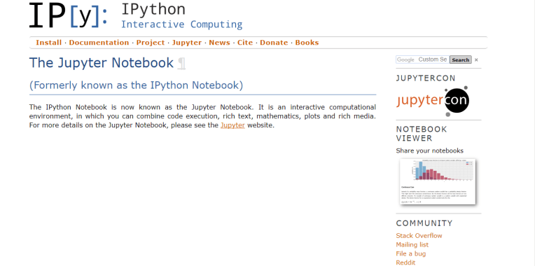 python anaconda packages with IPython