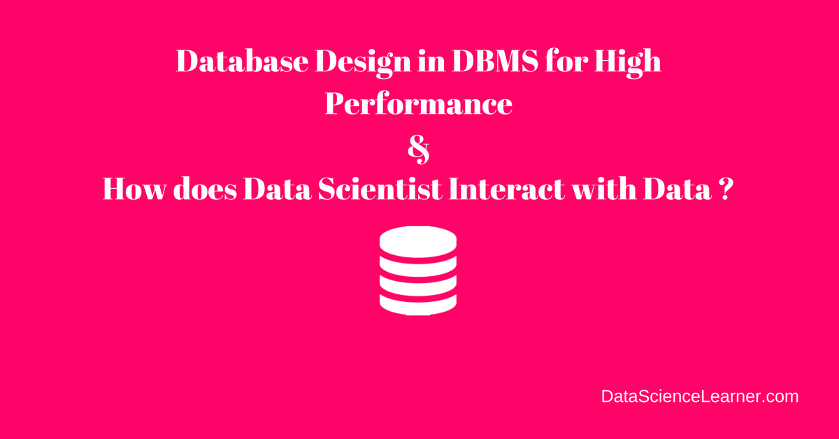 Database design for business applications dissertation
