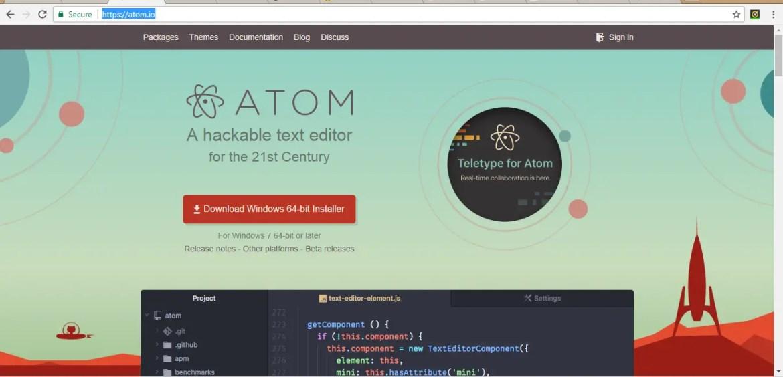 Best Python IDEs Atom