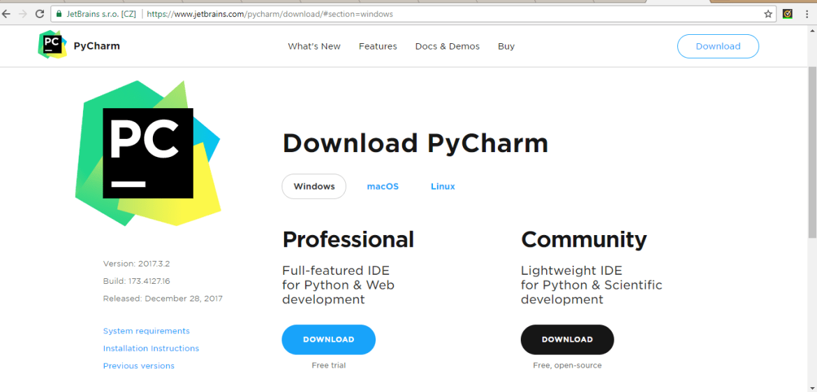 Best Python IDEs PyCharm Download