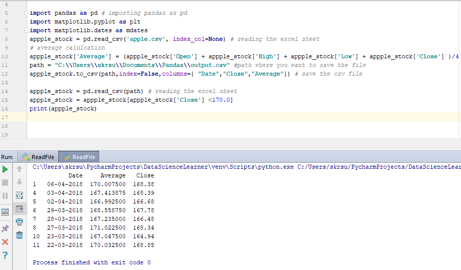 How to filter the data?