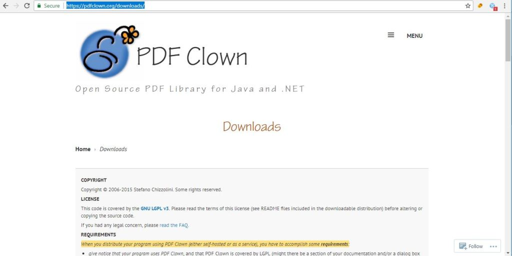 java PDF Libraries PDF Clown