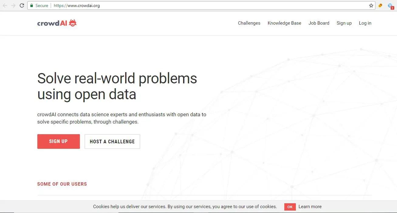Collaborative Data Science Platform CrowdAI