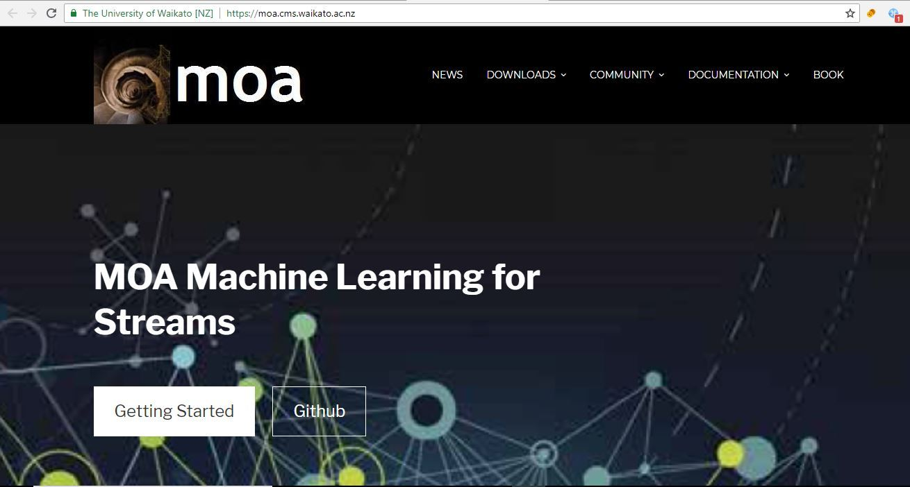 Java Machine Learning Libraries - MOA