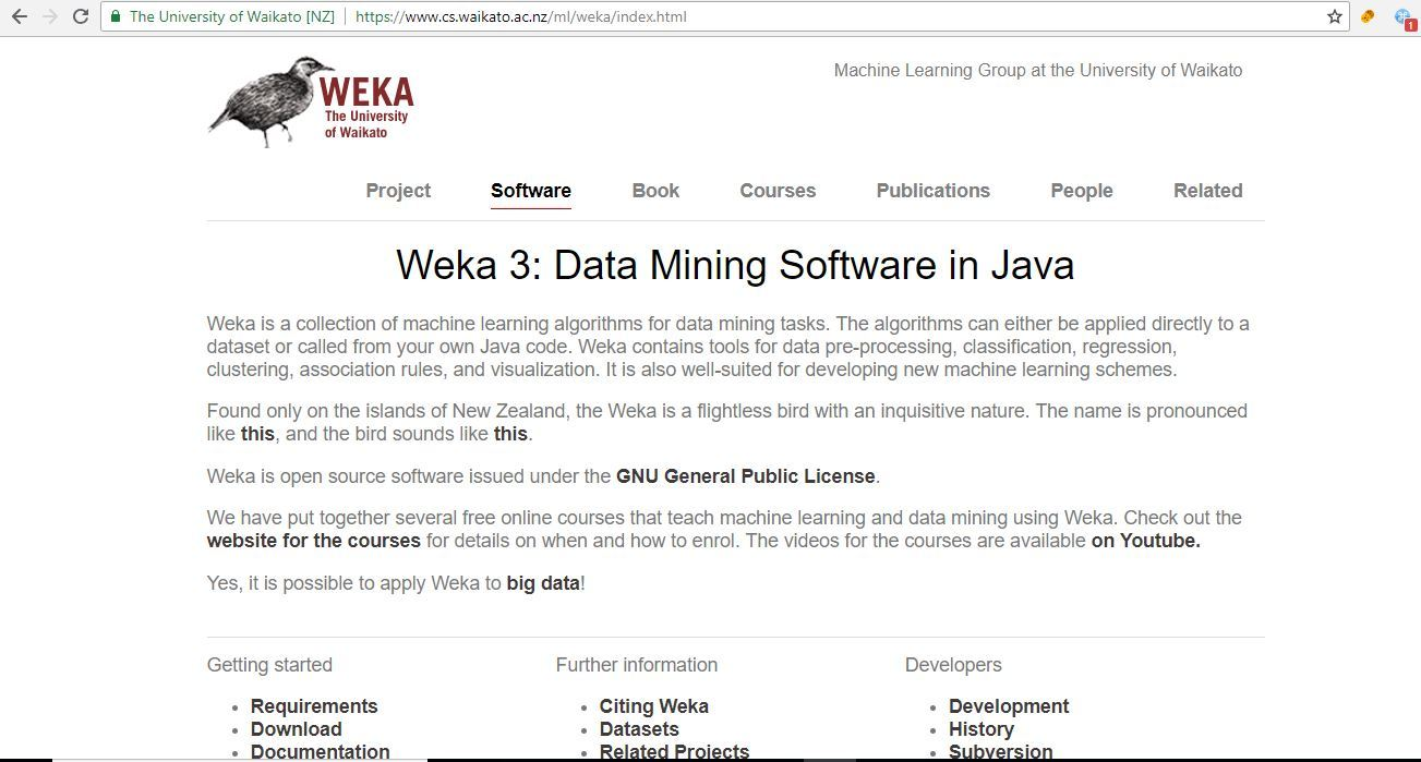 Java Machine Learning Libraries - Weka