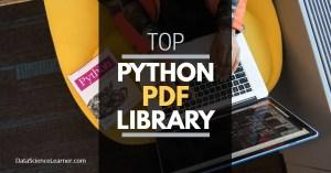 Python PDF Library