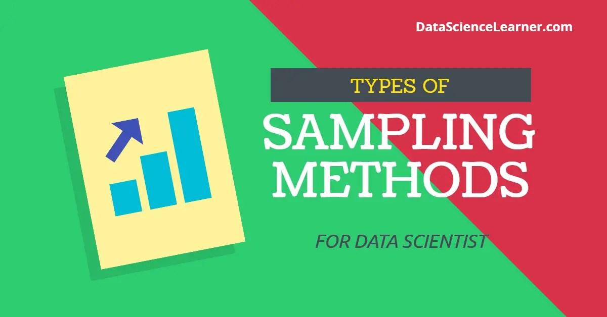 types of sampling method
