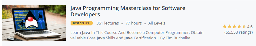 java programming masterclass for Software Developers2