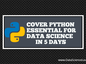 PYTHON ESSENTIAL FOR DATA SCIENCE