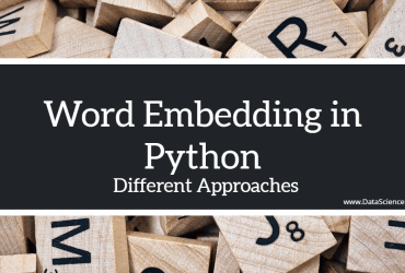 Word Embedding in Python