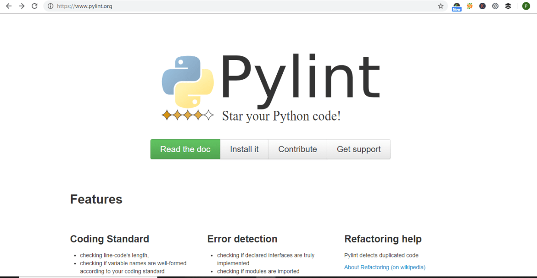 Python-code-Linters-PyLints.