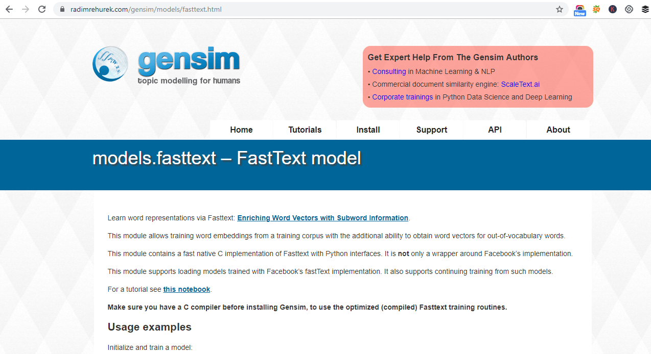 How to create word embedding using FastText ? - Data Science