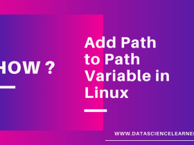 How to Add Path to Path Variable in Linux