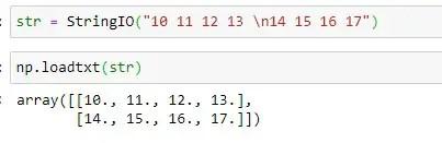 Directly loading File Object inside the numpy.loadtxt() method
