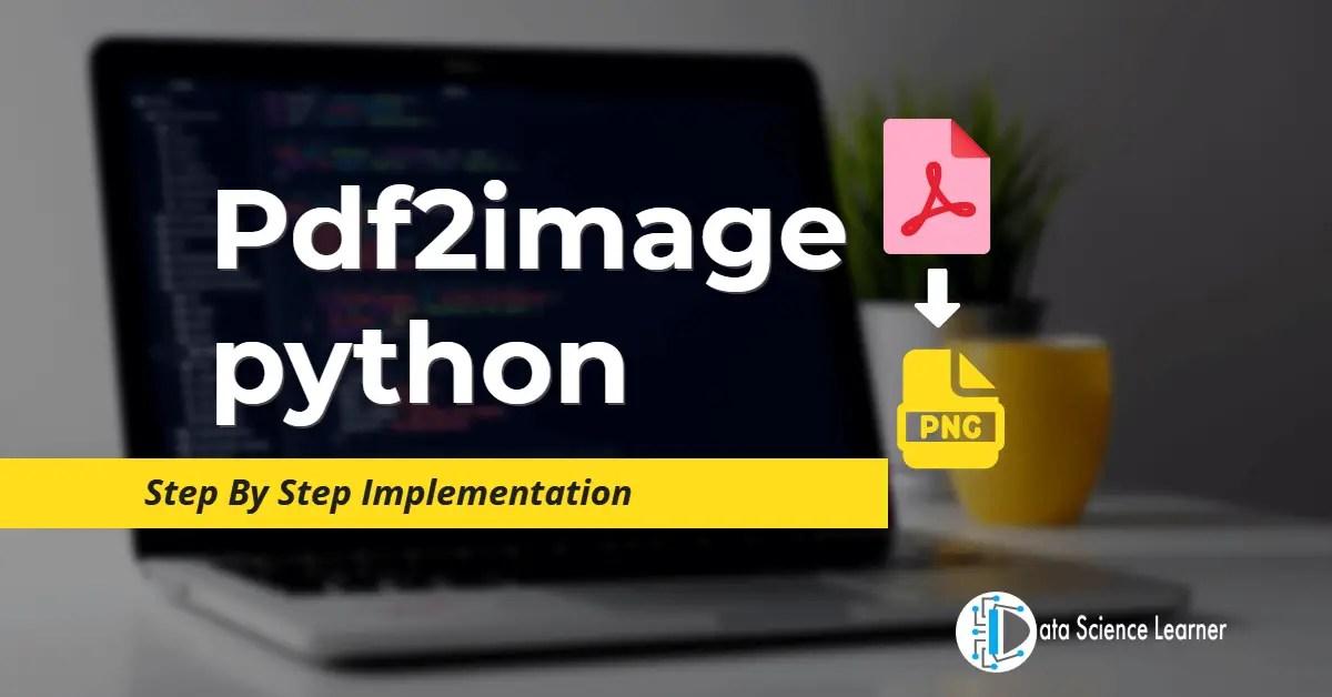 Pdf2image python featured image