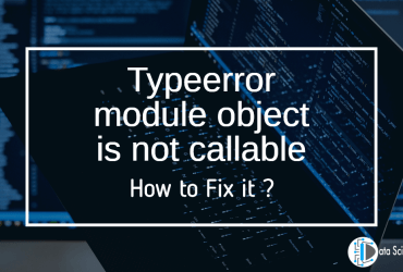 Typeerror module object is not callable featured image