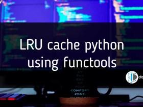 LRU cache python using functools