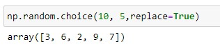 Generate a random Sample with unique values in the range