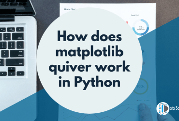 How does matplotlib quiver work in Python