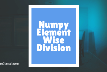 Numpy Element Wise Division featured image