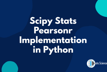 Scipy Stats Pearsonr Implementation in Python