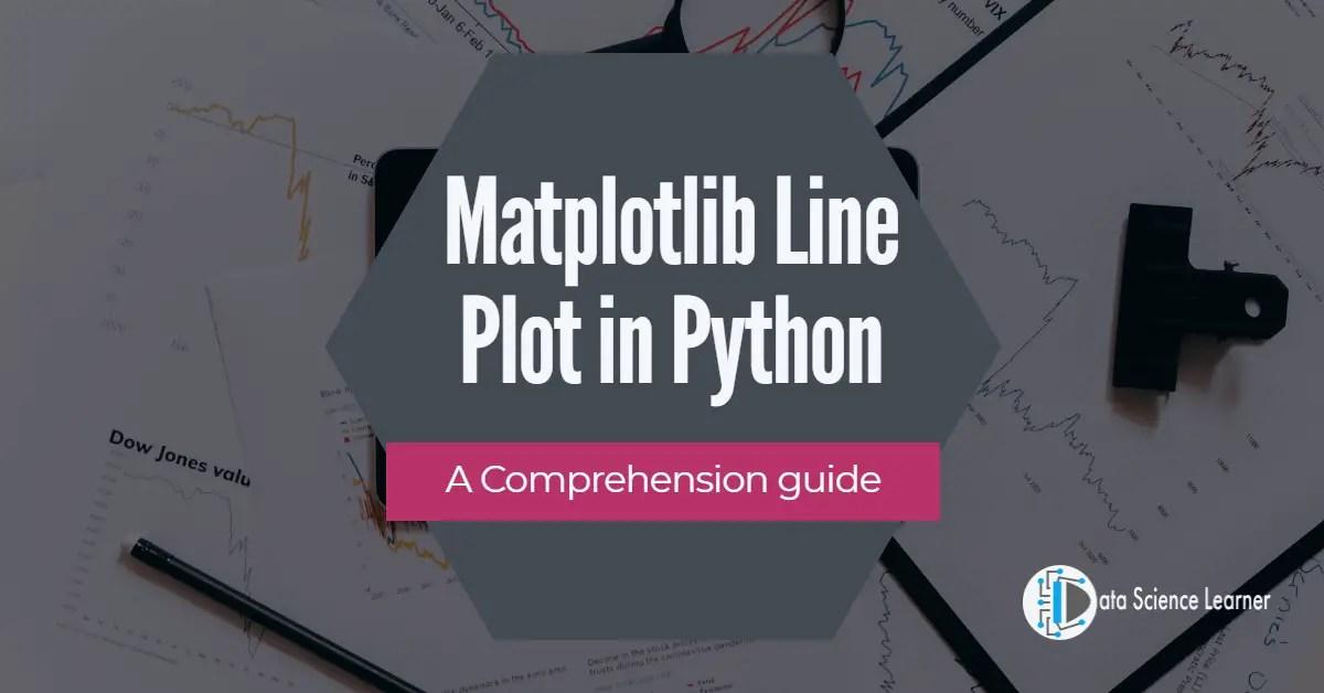 Matplotlib Line Plot in Python featured image