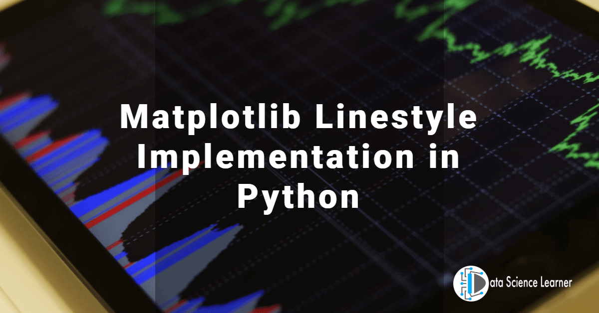 Matplotlib Linestyle Implementation in Python