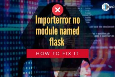 Importerror no module named flask