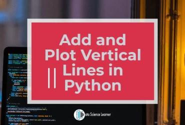 Matplotlib Vertical Line featured image