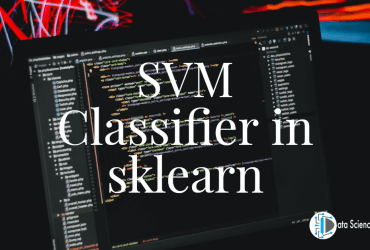 SVM Classifier in sklearn
