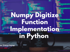 Numpy Digitize Function Implementation in Python