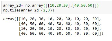 repeating array over rows and columns for 2d array