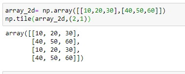 repeating array over rows for 2d array