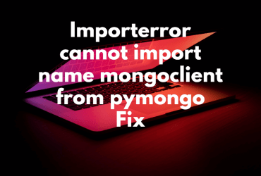 Importerror cannot import name mongoclient from pymongo Fix