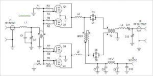 1500W Stereo Power Amplifier Schematic Images  Frompo