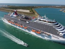 Port Canaveral in Florida became the first port to start distributing COVID-19 vaccines for workers, crew members