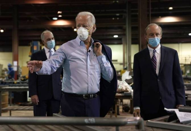 The-Biden-Administration-Supports-The-Use-Of-Masks-In-Texas-And-Florida-Districts