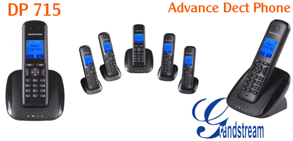 Grandstream DP715 Dect Phone Dubai Grandstream DP715 Dubai