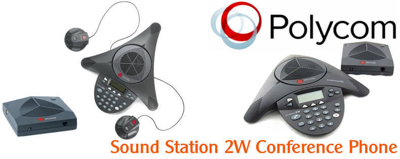 POLYCOM SOUNDSTATION2W CONFERENCE PHONE DUBAI Polycom Soundstation 2W Dubai