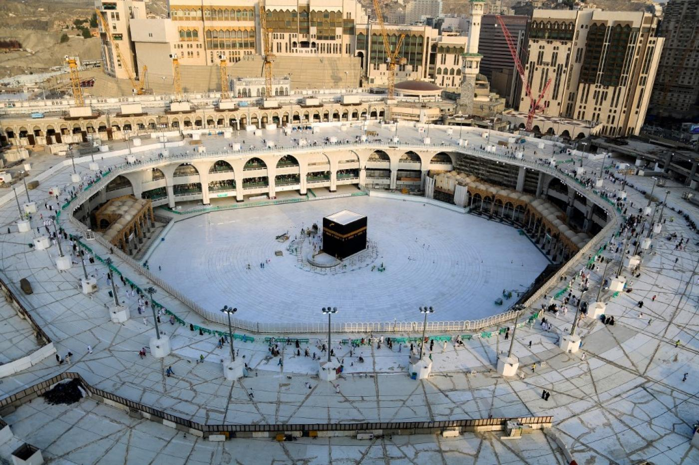 Saudi Arabia Imposed A 24 Hour Curfew In The Muslim Holy Cities Of Mecca And Medina On Thursday, Extending Measures To Combat The Spread Of The Coronavirus, Which Has Infected More Than 1,700 People